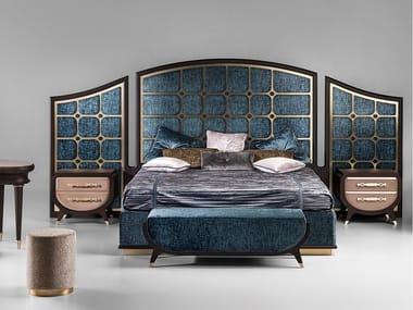 Fabric bed GRAN DUCA   Fabric bed