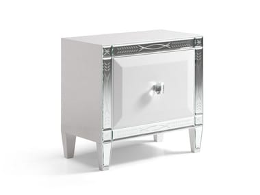 Rectangular bedside table with drawers GRAN DUCA GLOW | Bedside table