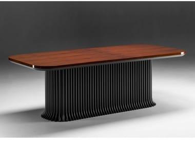 Rectangular rosewood living room table GRAN DUCA | Rosewood table