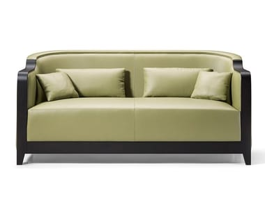 3 seater leather sofa GRAN DUCA | Sofa