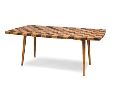 Rectangular cork table GRANADA