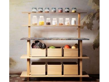 Modulo cucina freestanding in rovere e legno massello GRAND ÉTABLI   Modulo cucina freestanding in legno
