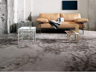 Pavimento/rivestimento in gres porcellanato effetto tessuto GRAND CARPET