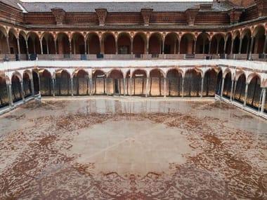 Pavimento/rivestimento in gres porcellanato per interni ed esterni GRAND CARPET | Sand A