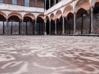 Pavimento/rivestimento in gres porcellanato per interni ed esterni GRAND CARPET | Sand E