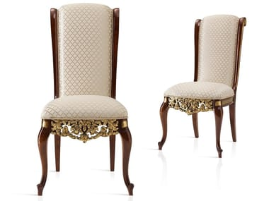 Upholstered fabric chair GRAND ROYAL | Fabric chair