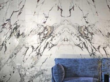 Pavimento/rivestimento in gres porcellanato effetto marmo GRANDE MARBLE LOOK | Capraia Book Match