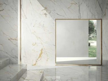 Pavimento/rivestimento in gres porcellanato effetto marmo GRANDE MARBLE LOOK | Golden White