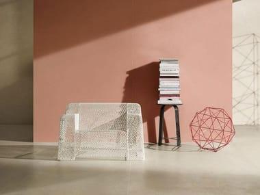 Pavimento/rivestimento in gres porcellanato effetto resina GRANDE RESIN LOOK | Rosso Cold