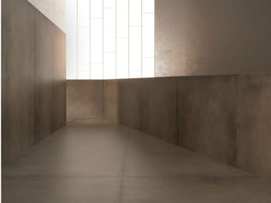 Porcelain stoneware wall/floor tiles with metal effect GRANDE | Wall/floor tiles with metal effect