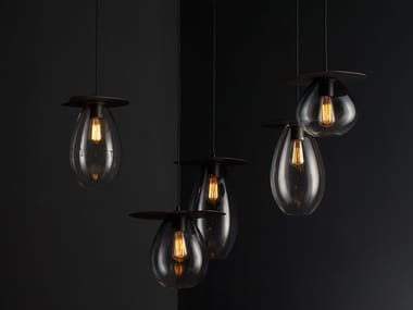 Glass pendant lamp GRAPES | Pendant lamp