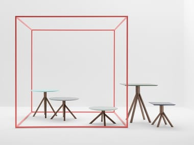 Tables with wooden frame GRAPEVINE WOOD