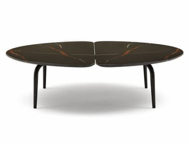 Low marble coffee table GRAPHIUM | Coffee table