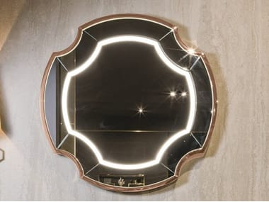 Wall-mounted mirror with integrated lighting GRAYDON LIGHT