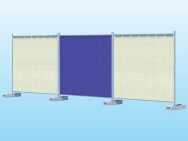 Construction site temporary and mobile fencing GRECATO