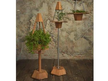 Lampada da terra a LED in legno GREEN | Lampada da terra