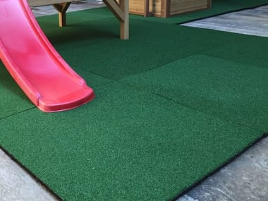 Synthetic grass Shock-proof floor tile GREEN SOFT