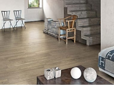Porcelain stoneware wall/floor tiles with wood effect GREENTECH