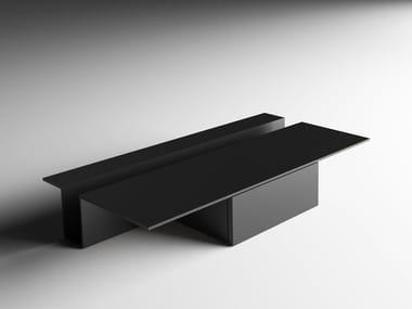 Low rectangular coffee table GREK