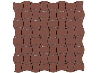 Pavimento/rivestimento antiscivolo in gres porcellanato per interni ed esterni GRES BUTTERFLY FULL BODY SU RETE