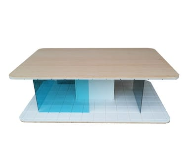 Coffee table with storage space GRID | Coffee table