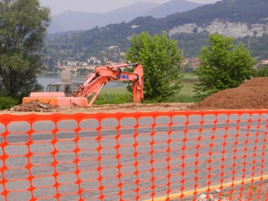 Construction site temporary and mobile fencing GRIFON