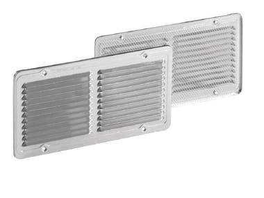Griglia di ventilazione rettangolare in alluminio GRIGLIA FISSA RETTANGOLARE