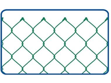 Rete zincata e plastificata a semplice torsione GRIGLIA PLASTIFICATA | 50 x 50 STANDARD