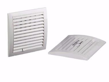 Griglia di ventilazione in ABS GRIGLIA CON SERRANDA E IMBOCCO