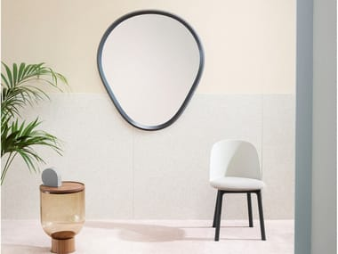 Wall-mounted framed mirror GRIMILDE
