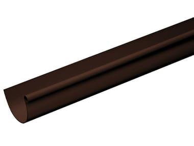 Canale di gronda in PVC marrone GRN116M / GRN116M2