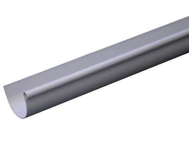 Canale di gronda in PVC grigio GRN116N / GRN116N2