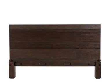 Testiera in legno massello GROOVE | Testiera