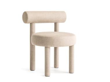 Upholstered open back fabric chair GROPIUS CS1 | Chair