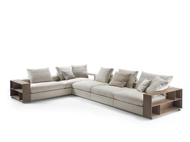 Canapé composable en tissu avec rangement GROUNDPIECE   Canapé composable
