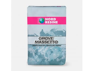Massetto a grana fine per la modifica delle pendenze GROVE MASSETTO