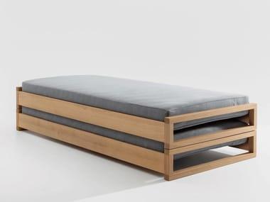 Cama conversível de madeira GUEST | Cama conversível