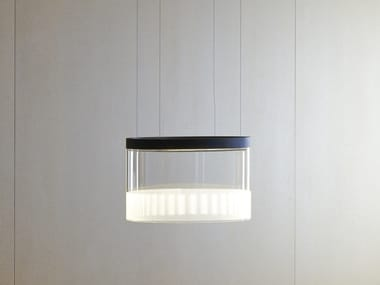 LED Borosilicate glass pendant lamp GUISE | Pendant lamp