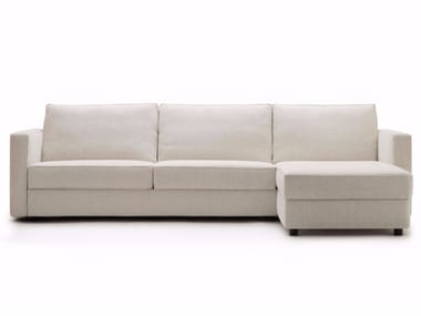 Fabric sofa bed with chaise longue GULLIVER | Sofa bed with chaise longue