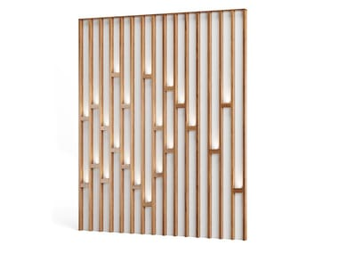 Wood veneer Decorative panel with light GUSTATUS