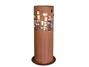 Corten™ fireplace GUSTAV COMMERCE