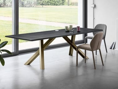 Extending wooden table GUSTAVE PLUS