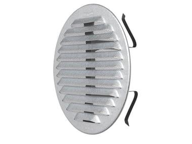 Griglia di ventilazione rotonda in metallo GZKTU125R | Griglia di ventilazione