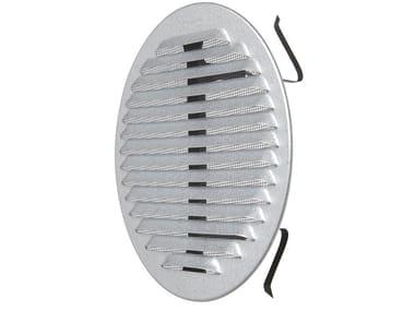 Griglia di ventilazione rotonda in metallo GZKTU160R | Griglia di ventilazione