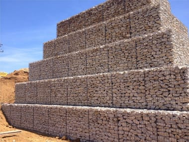 Steel Metal fabric and mesh Gabion Mesh