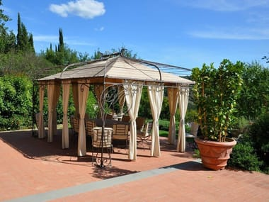 Gazebo in ferro battuto Gazebo 10