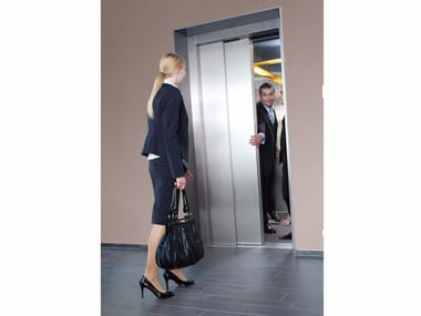 Lift without machine room for existing buildings Gen2® Flex+