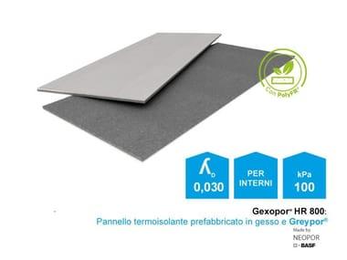 Pannello prefabbricato termoisolante Gexo Gexopor 30