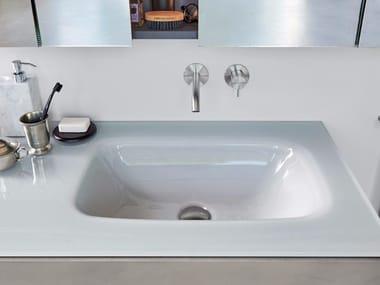 Waschbecken aus Glas | Archiproducts | {Doppelwaschbecken glas 29}