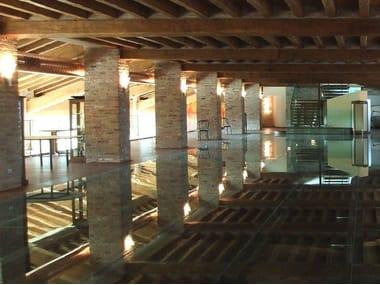Pavimento in vetro Pavimento in vetro